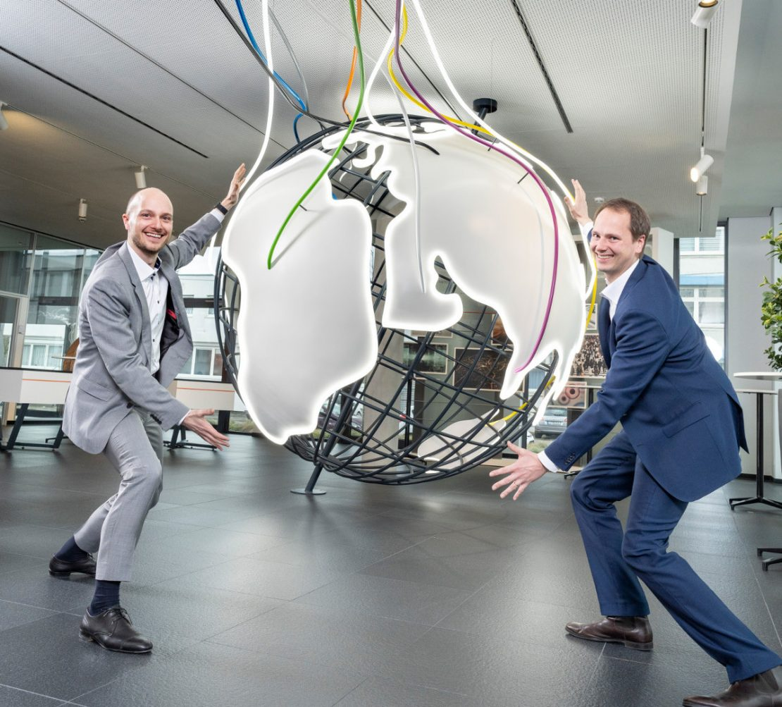 The Lapp brothers are embracing a wired globe