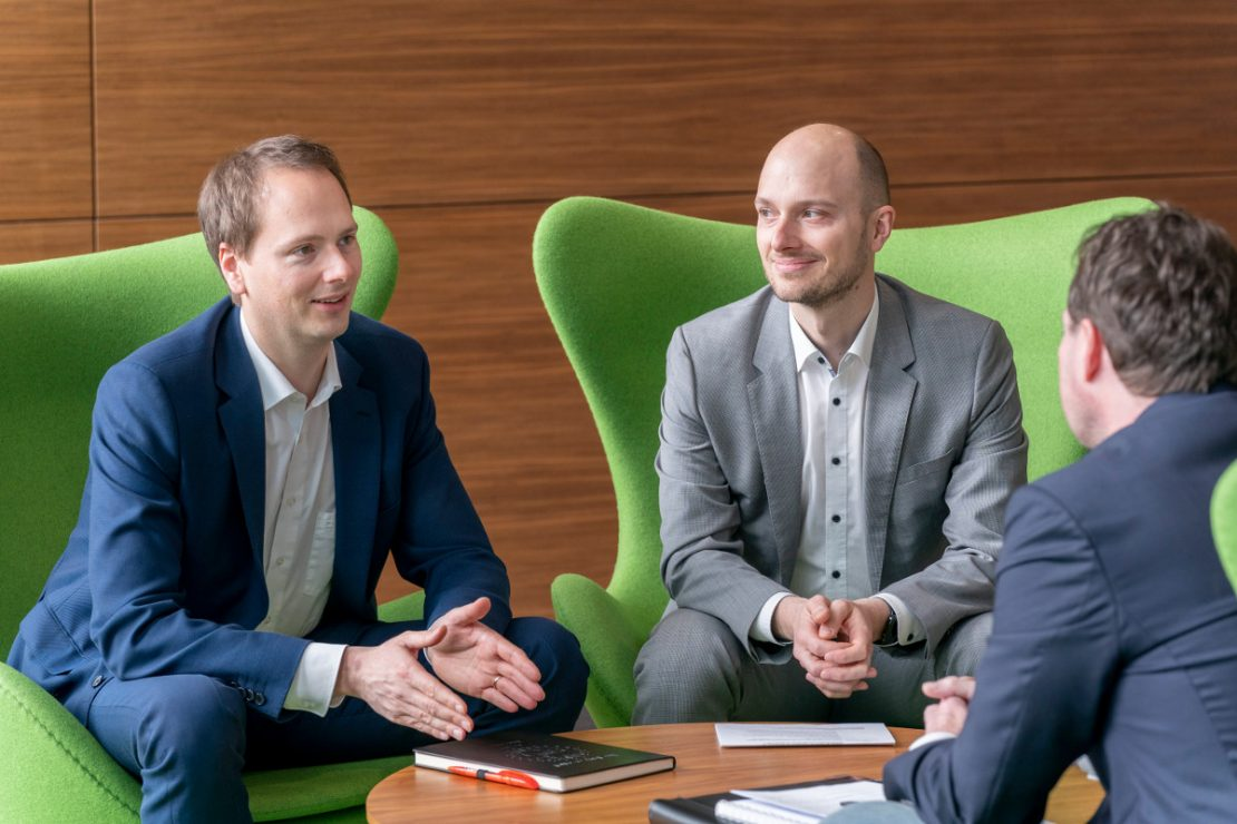 Handover of a family business: Matthias and Alexander Lapp are being interviewed