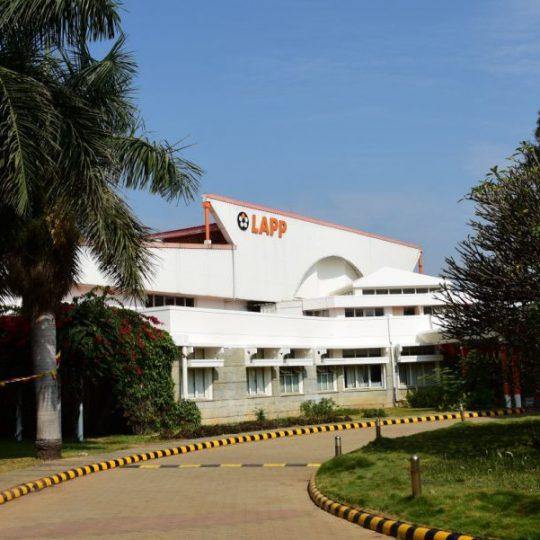Das LAPP Headquarter in Bhopal in der Außenansicht
