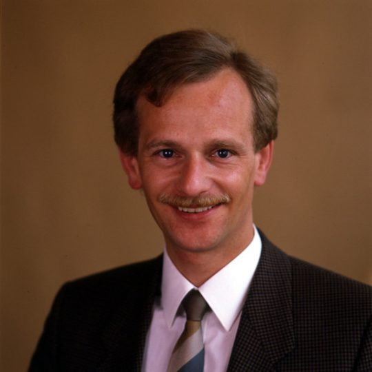 A portrait of Siegbert Lapp