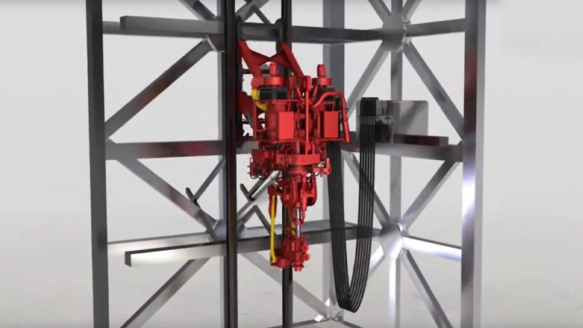 """Videobild für """"Speziell entwickelte Kabel für die Schleppkette für Bohrinseln und Offshore"""""""