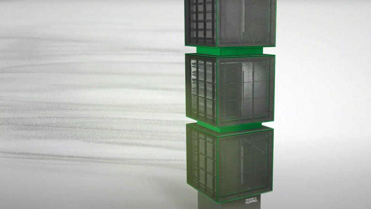 Video image Filter Cubes von MANN+HUMMEL