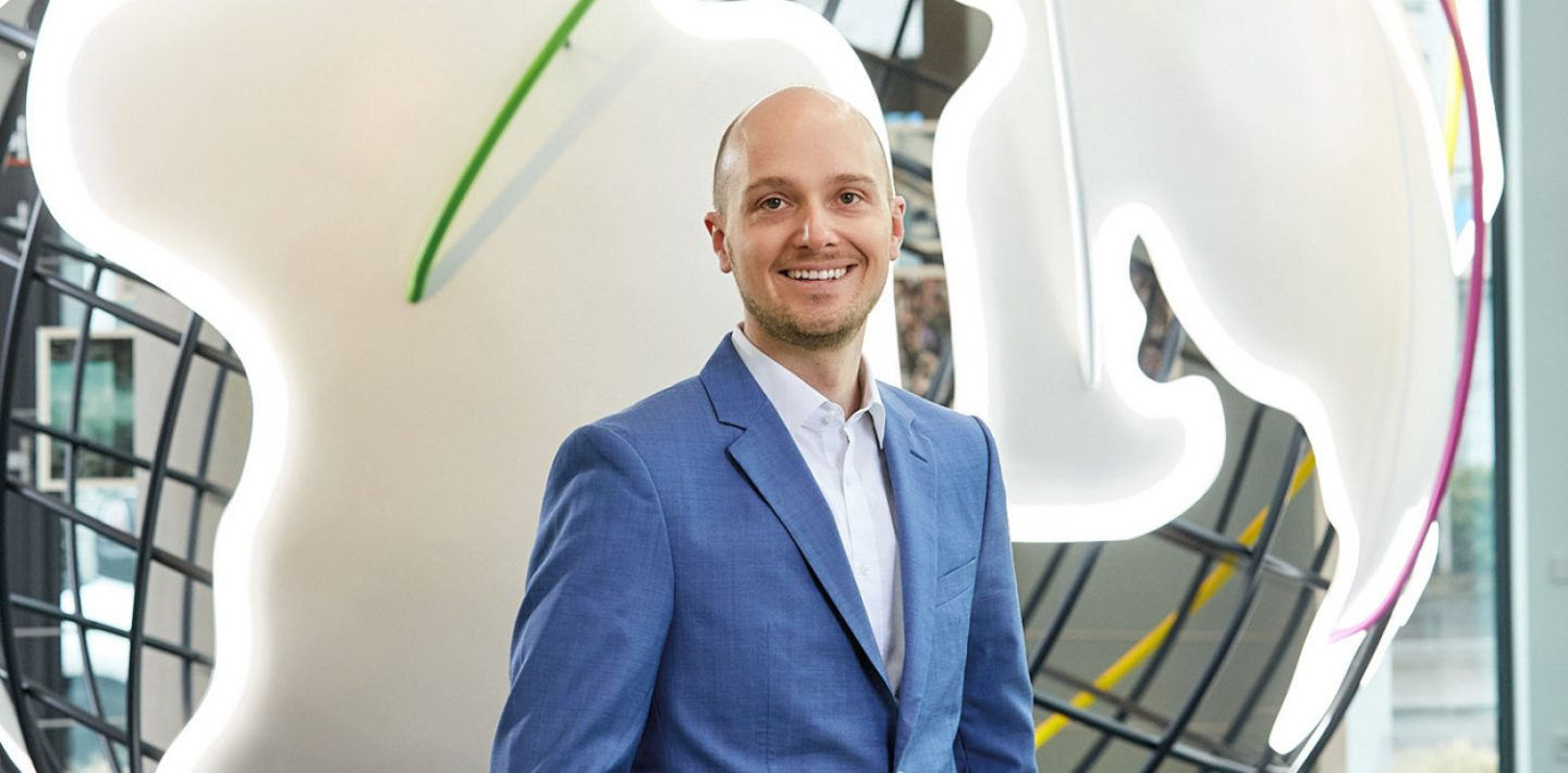 The picture shows Alexander LAPP, Global Manager Digital LAPP Group.