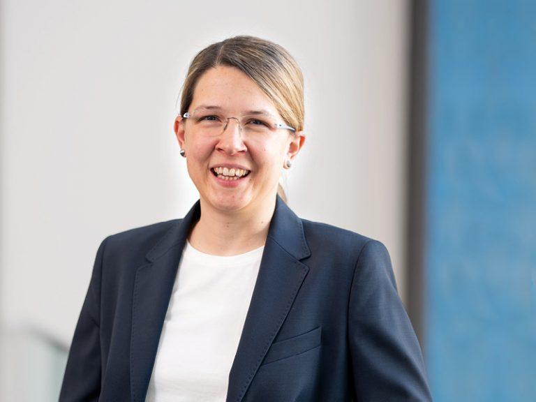 The picture shows a portrait of Susanne Krichel, Senior Manager Business Development IoT.