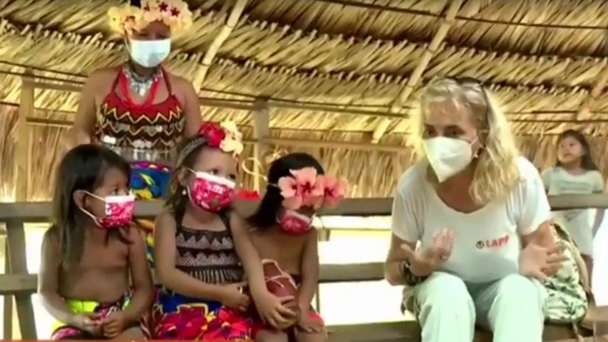 """Video image """"Conectamos ayudando, LAPP Panamá"""""""