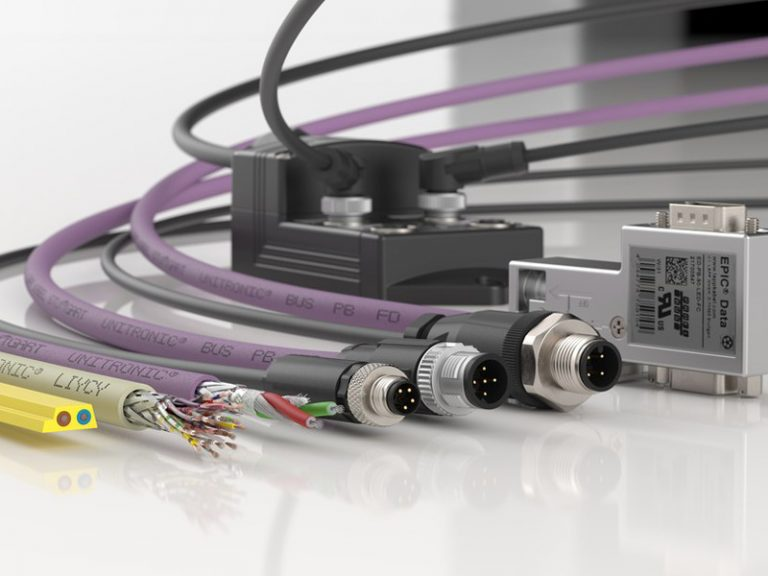 The picture shows the LAPP products Fieldbus Systems.