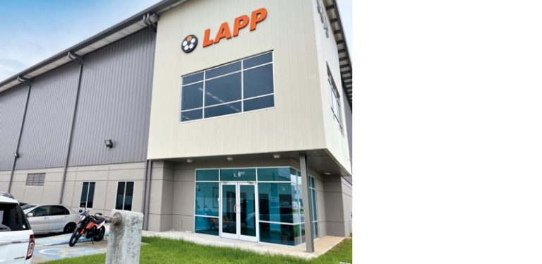 The picture shows the headquarters of LAPP Panamá.